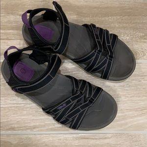 Teva Tirra black & purple Sport Sandal
